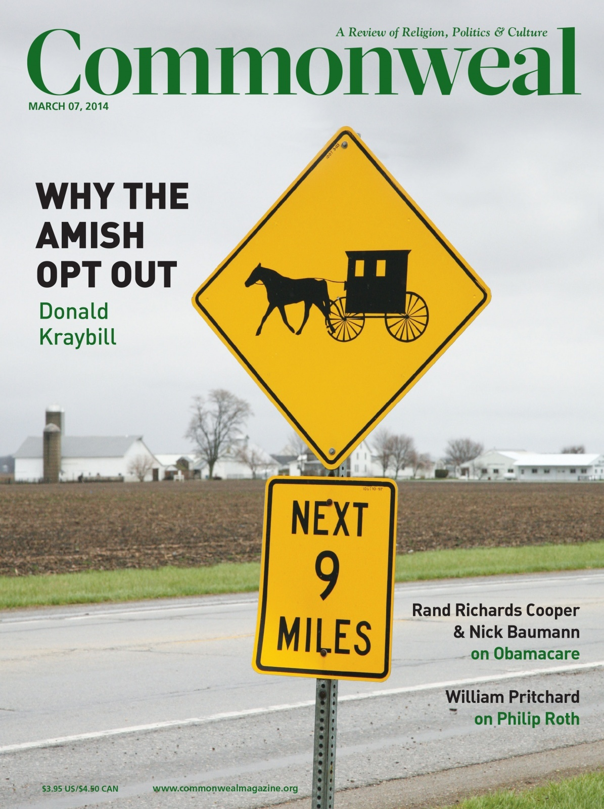 Commonweal Magazine - Opting Out: How the Amish Haved Survived in America by Donald Kraybill