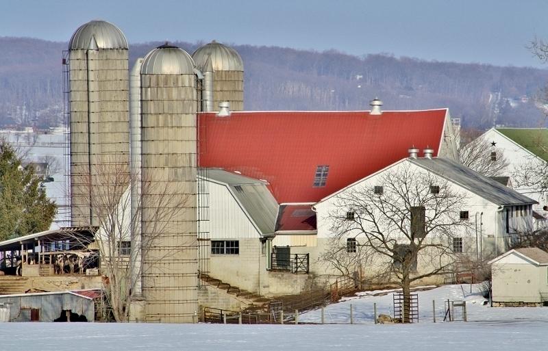 Farm near Intercourse, Lancaster County, PA