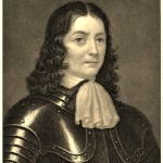 William Penn in armor in 1666 at age 22