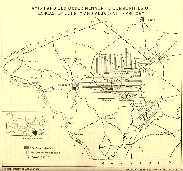 Map of Amish and Old Order Mennonite Communities of Lancaster County Lancaster Co Map on skagit co map, chilton co map, hunterdon co map, fairfax co map, garfield co map, middlesex co map, henrico co map, maricopa co map, fayette co map, garrard co map, murray co map, lincoln co map, mobile co map, leavenworth co map, calaveras co map, walton co map, california co map, santa barbara co map, nevada co map, maryland co map,