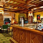 The bar at Hotel Hershey - Photo by Matt Chan