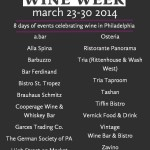 Navigating the inaugural Philly Wine Week