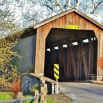 Hunsecker's Mill Covered Bridge – Pictures and Location Map