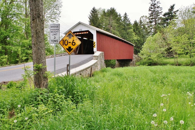 Forry's Mill Covered Bridge - Lancaster County, PA