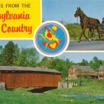 Pennsylvania Dutch Country Vintage Postcards