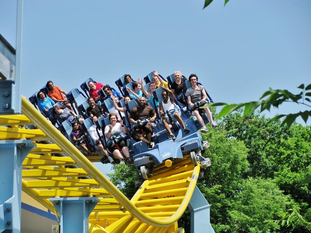 Video Hersheypark S Skyrush Roller Coaster Pov Visit Pa Dutch
