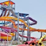 Dorney Park's new Snake Pit water slide provides an adrenaline rush