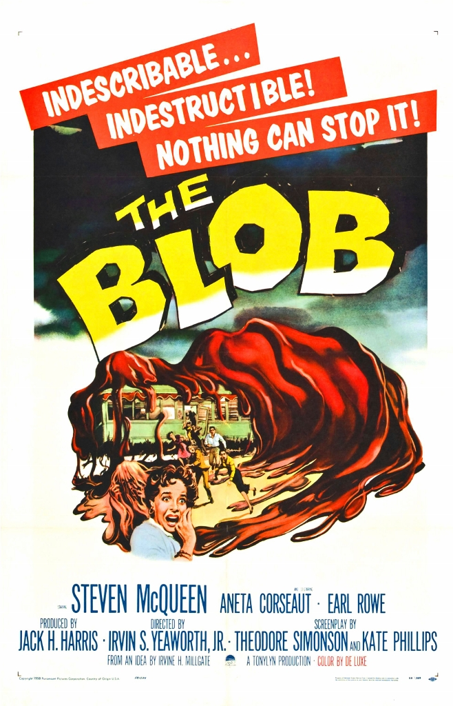 The Blob Movie Poster