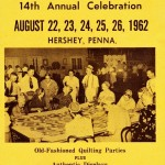 Pennsylvania Dutch Days 1962 Flyer  – Hershey, PA