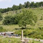 View from Devils Den Gettysburg