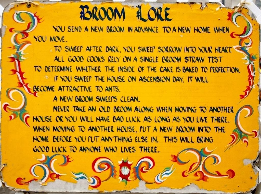 pennsylvania dutch folkways amp traditions broom lore