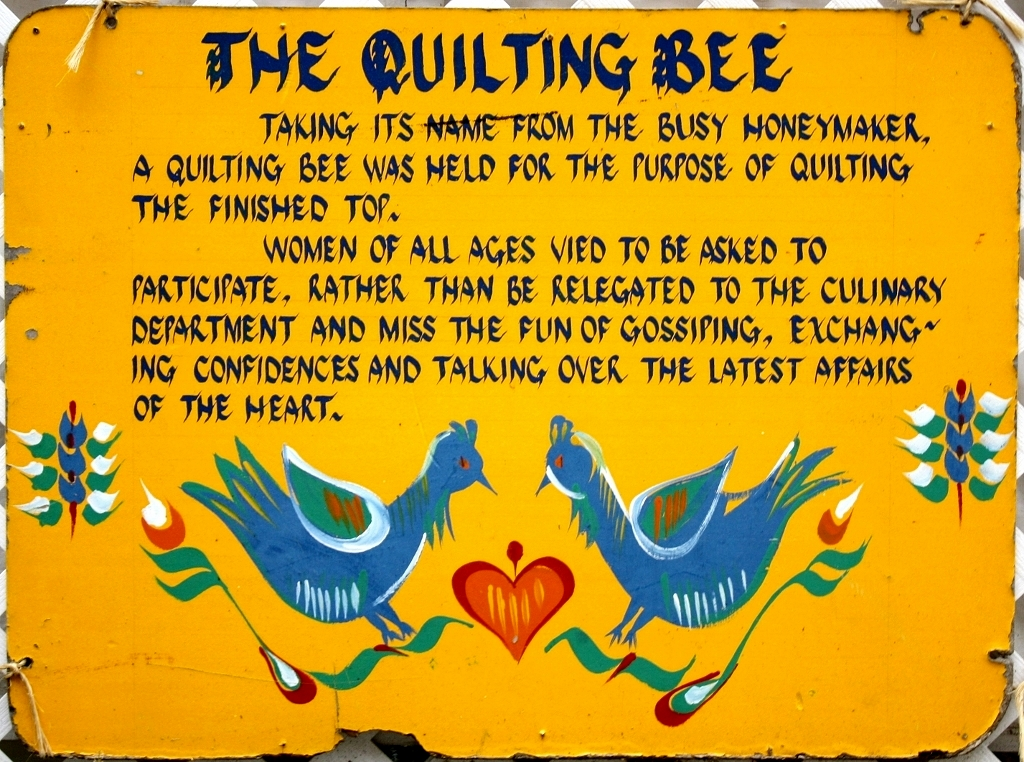 Pennsylvania Dutch Folkways Traditions The Quilting Bee Visit