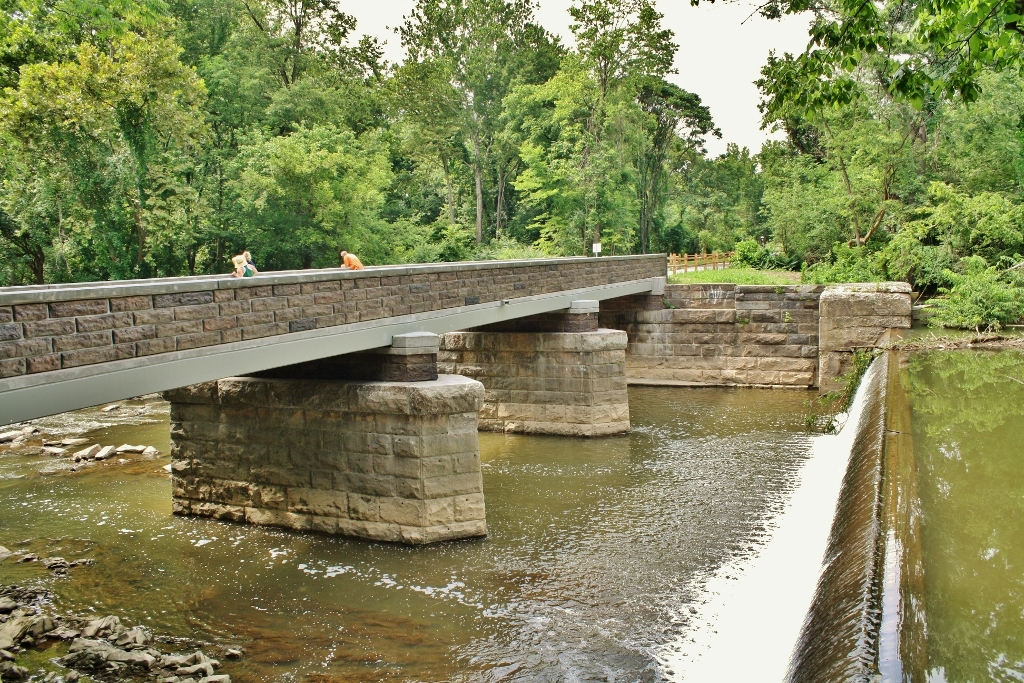 Chiques Creek Pedestrian Bridge - Lancaster County, PA