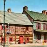 Horatio Gates House & The Golden Plough Tavern, York PA Vintage Postcard