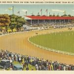 York Fairground, York PA Vintage Postcard