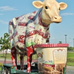 Turkey Hill Giant Mobile Ice Cream Cow