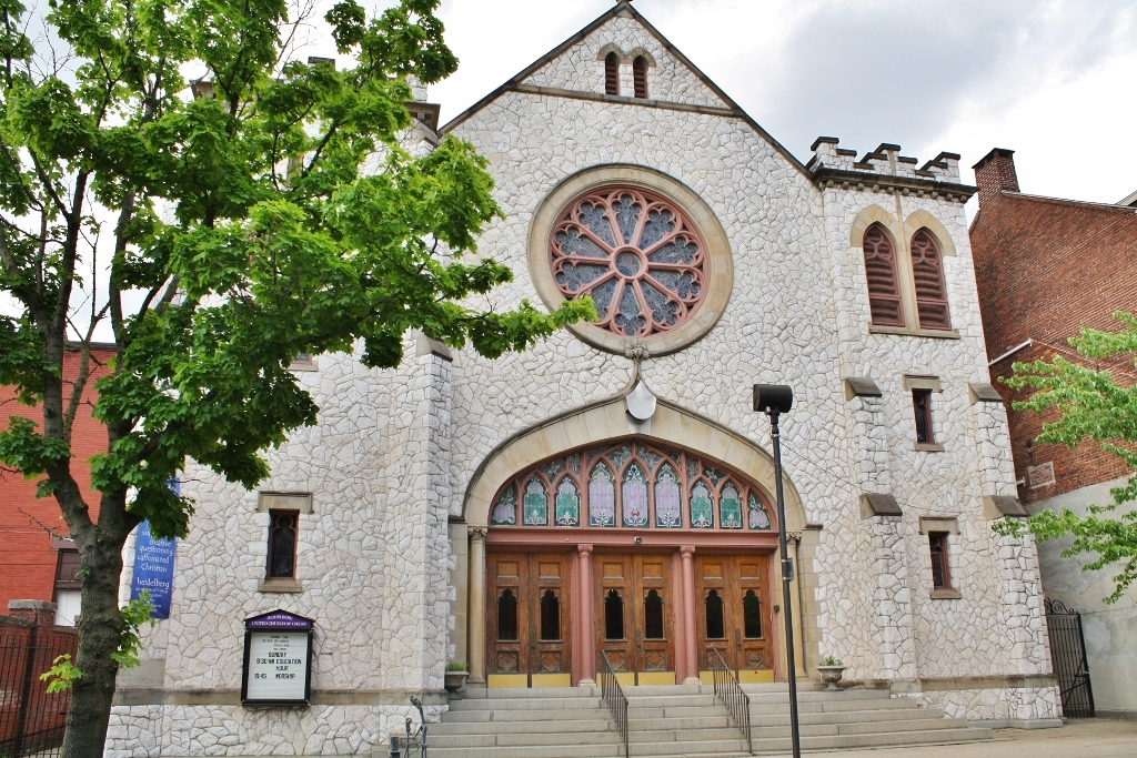 Architecture of York, PA - Heidelburg United Church of Christ