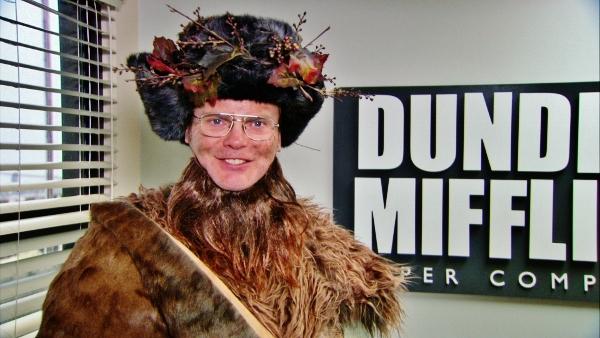 Dwight Schrute as Belsnickel