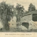 Vintage Postcard Covered Bridge Crossing The Maiden Creek At Berkley, PA