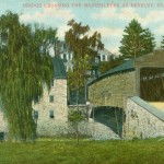 Vintage Postcard Covered Bridge Crossing The Maiden Creek At Berkley, PA