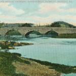 Vintage Postcard Stone Bridge Crossing Maiden Creek, Berkley, Reading PA