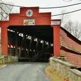 Dreibelbis Covered Bridge, Maiden Creek, Berks County, Pennsylvania