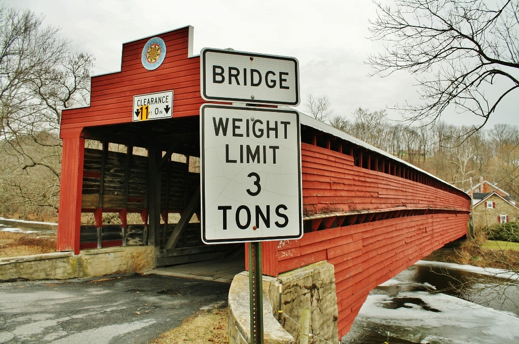 Dreibelbis Covered Bridge - Berks County, PA