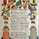 York County fraktur fetches nearly $10,000 at auction
