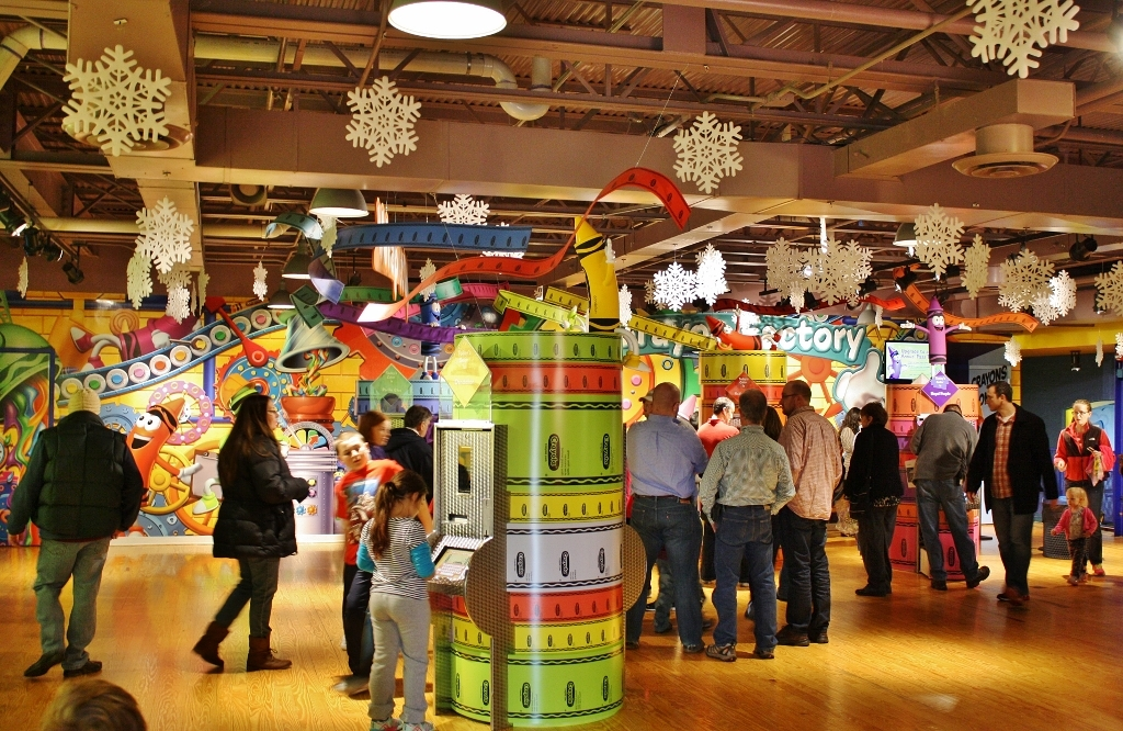 the crayola experience easton pa visit pa dutch country