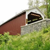 Siegrist's Mill Covered Bridge - Lancaster County, PA