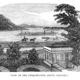 View of the Susquehanna Above Columbia
